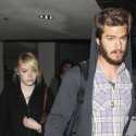Emma Stone And Andrew Garfield Touch Down At LAX