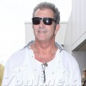 Mel Gibson Arrives At LAX