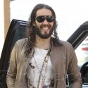Russell Brand Is In A Great Mood