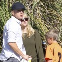 Reese Witherspoon And Ryan Phillippe Attend Deacon's Soccer Game