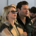 Ryan Seacrest And Julianne Hough Leave Paris