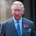 Prince Charles Hops On A Motorcycle