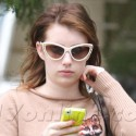 Emma Roberts Shops In Beverly Hills