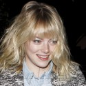 Emma Stone Pays A Visit To The Hair Salon