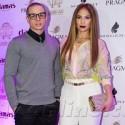 Jennifer And Casper Pose Together In Dubai