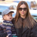 Miranda Kerr Brings Little Flynn To Work