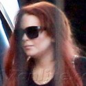 Lindsay Lohan Arrives At The Tonight Show
