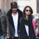 Mila Kunis And James Franco Hang Out In Italy