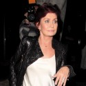 Sharon Osbourne Dines At Madeo With Friends