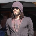 Russell Brand Holds Hands With Mystery Blonde