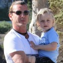 Gavin Rossdale Takes The Boys Hiking