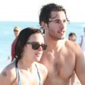 Rumer Willis And Jayson Blair Hit The Beach In Miami