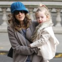 Sarah Jessica Parker Takes Twins For A NYC Stroll
