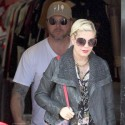 Tori Spelling And Dean McDermott Hit The Motorcyle Shop