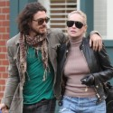 Sharon Stone Takes A Stroll With Her Young Beau