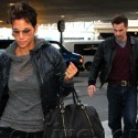 Halle Berry And Olivier Martinez Fly To France