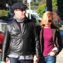 Jon Hamm And His Girlfriend Go On A Romantic Walk