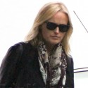 Malin Akerman Has Lunch With Her Mom