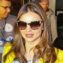 Miranda Kerr Wears Yellow Blazer To Whole Foods