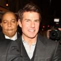 Tom Cruise Parties At Rose Bar