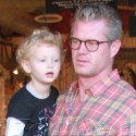 Eric Dane And His Family Go Out For Lunch