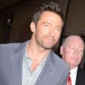 Hugh Jackman Departs Talk Show In NYC