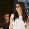 Kim And Kourtney Kardashian Shoot Their Reality Show In Miami