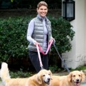 Lori Loughlin Takes Her Dogs For A Walk