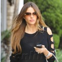 Sofia Vergara Steps Out In All Black In Beverly Hills