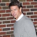 Tom Cruise Makes Time For His Fans Outside Of <em>Letterman</em>