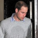 Prince William Stops By The Hospital