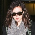 Rumer Willis Catches A Flight Out Of LAX