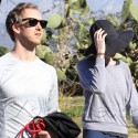 Anne Hathaway And Adam Shulman Get In Some Cardio