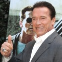 "Arnold Schwazenegger At ""The Last Stand"" Premiere In Rome"