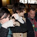 Harry Styles Rushes To Coldplay Concert