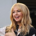 Rachel Zoe Stops By Extra At The Grove While Son Skyler Plays At The Park