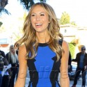 Stacy Keibler Shows Off Her Pin Thin Frame At Equinox Event