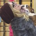 Ashley Benson Bonds With An Adorable English Bulldog