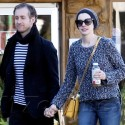 Anne Hathaway And Adam Shulman Do Lunch