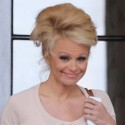 Pamela Anderson Leaves Her Hotel And Heads To Rehearsal