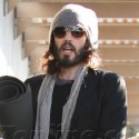 Russell Brand Goes To Yoga In Los Angeles