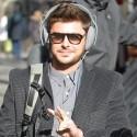 Zac Efron Arrives To <em>Are We Officially Dating</em> Set