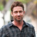 Gerard Butler Heads To A Meeting In Beverly Hills