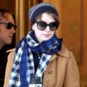 Anne Hathaway Bundles Up In The Big Apple