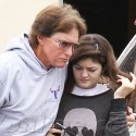 Bruce And Kylie Jenner Look Somber Following Meeting