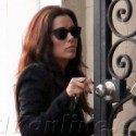 Eva Longoria Stops By A Friend's House