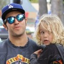Pete Wentz Hangs Out With His Loves
