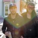 Pete Wentz And Meagan Camper Grab Java Together