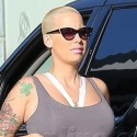Amber Rose Grabs Lunch With Her Mom