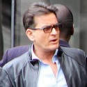 Charlie Sheen Takes A Meeting With His Producers